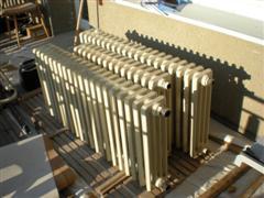 Litinové radiátory bazar